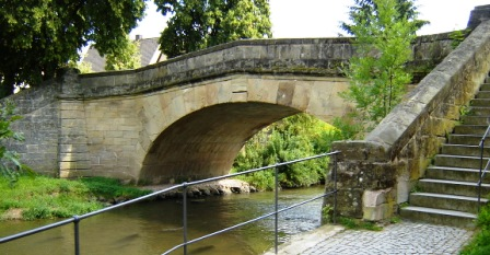 Rezatbrücke in Windsbach